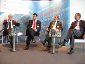PMG Forum: Prof. Bentele, Dr. Allgäuer, Christian Kroos und Sven Kuntze