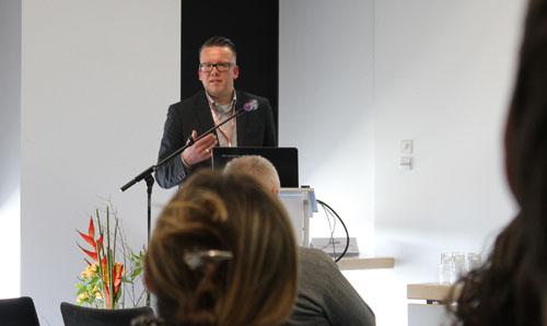 Dirk Nolde, Berliner Morgenpost auf der TV Komm.