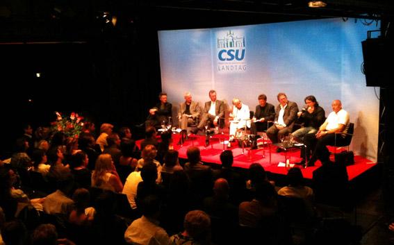 3D-Zukunft des Kinos? Filmfest-Diskussion der CSU