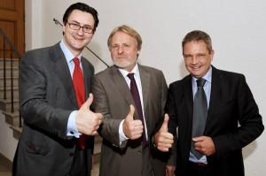 Nikolai A. Behr mit MFE Kollegen