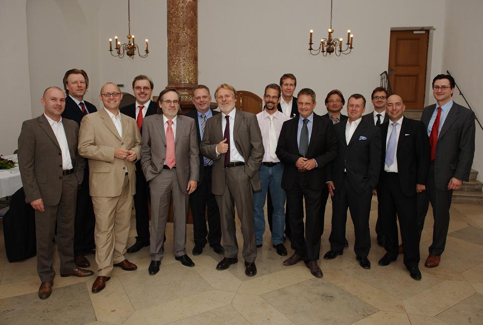 Nikolai A. Behr (links) die und MFE Gründer