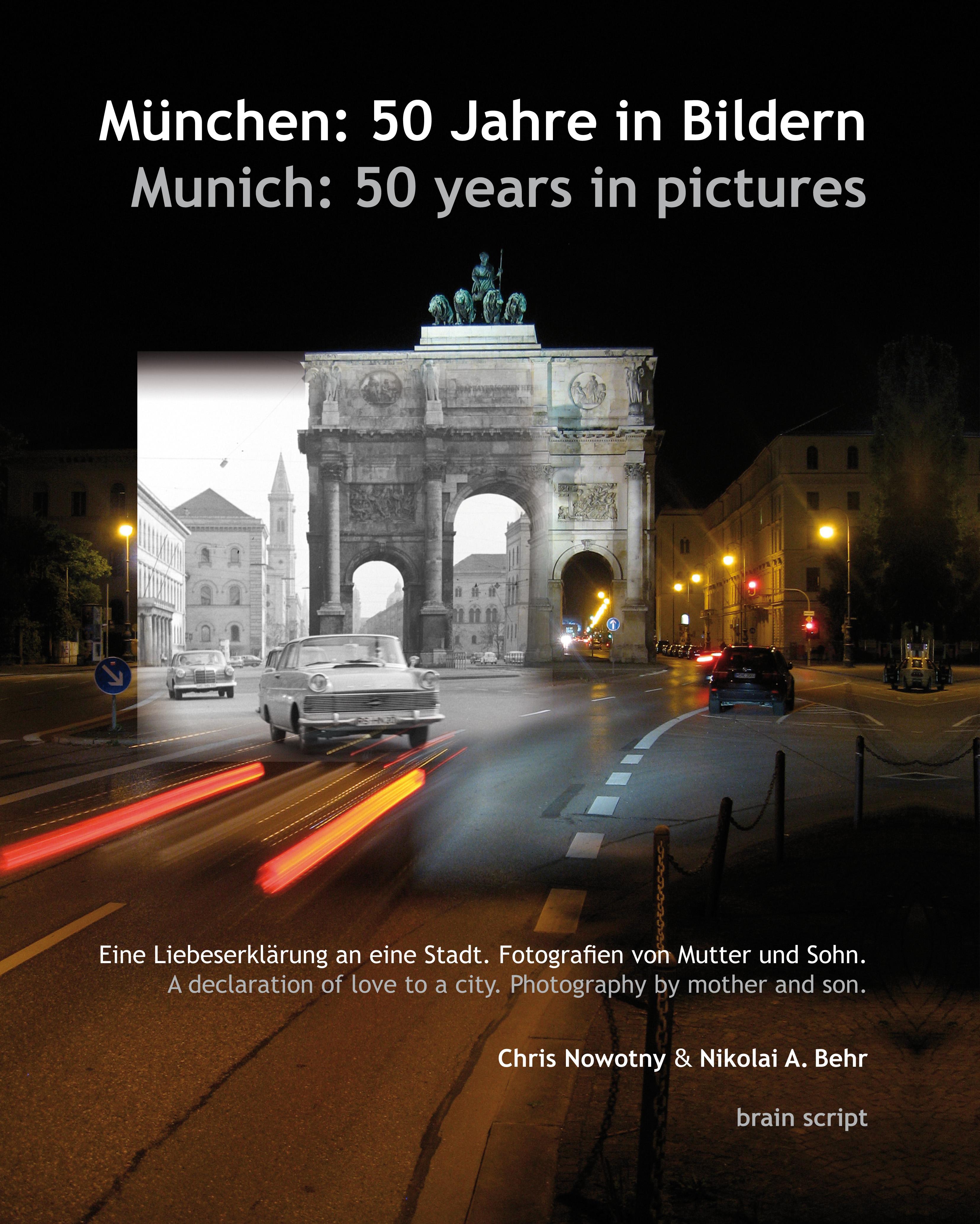 Titelbild Bildband München: 50 Jahre in Bildern