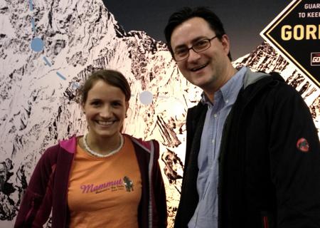 Anna Stöhr und Nikolai Behr auf der EOFT in München