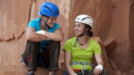 EOFT 2011/12: Anna Stöhr und Juliane Wurm klettern mit Lynn Hill