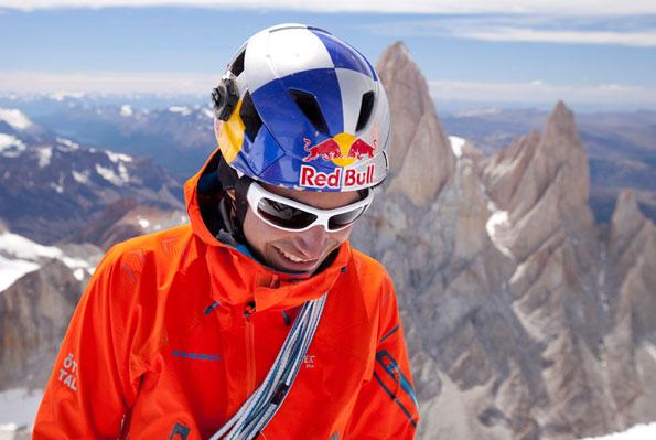 David Lama auf dem Cerro Torre © by Mammut