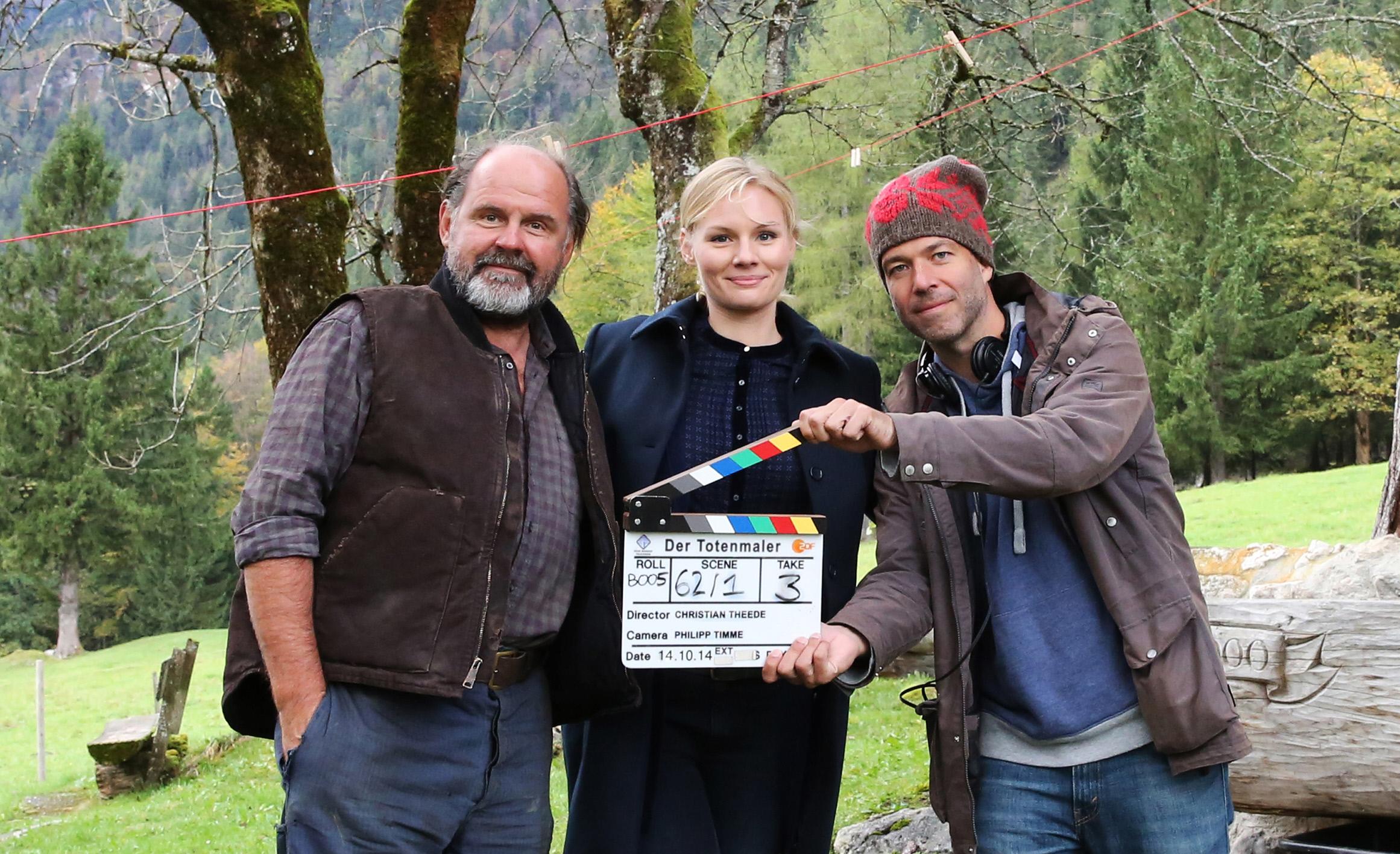 """Neuer ZDF Thriller in Produktion: """"Der Totenmaler"""""""