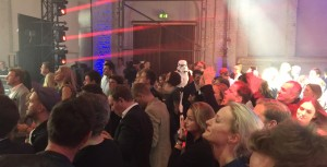 Auffällig: Unter das Publikum hatten sich einige der Star Wars Sturmtruppen gemischt.