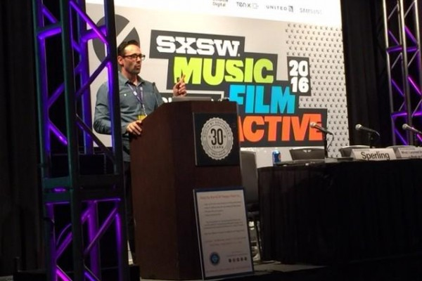 Jason Sperling @SXSW in Austin, Texas, March 11th, 2016